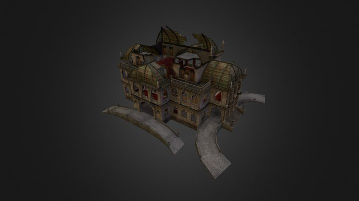 Theater_ruin 3D Model