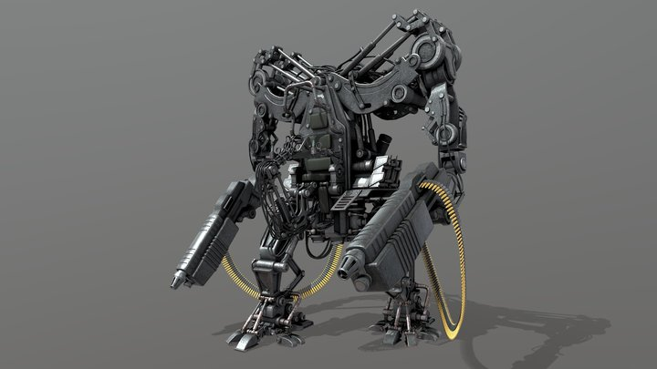 APU - Matrix (ANIMATED MODEL HD) 3D Model