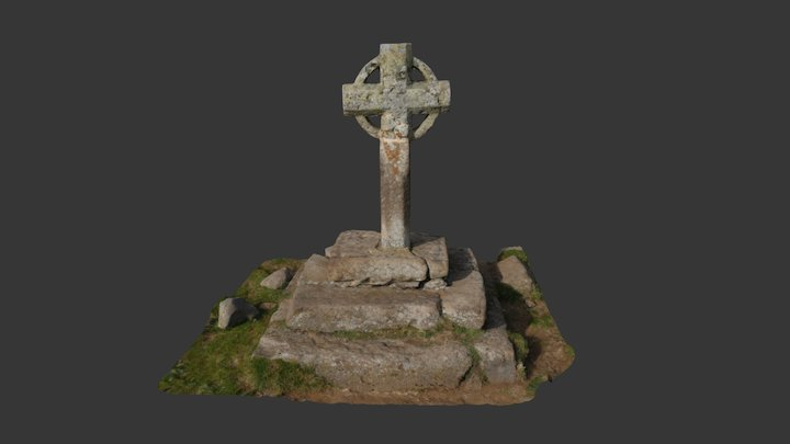 croix de la rode 3D Model