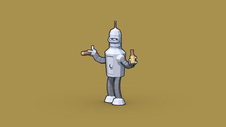Quarantink Challenge - Day 20 - Robot 3D Model