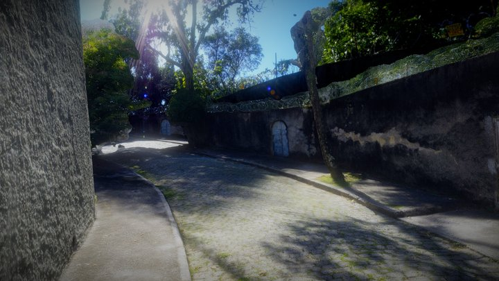 Road without Exit scan and pano 3D Model