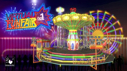 Virtual-FunFair - Chain-Carousel 2.0 3D Model