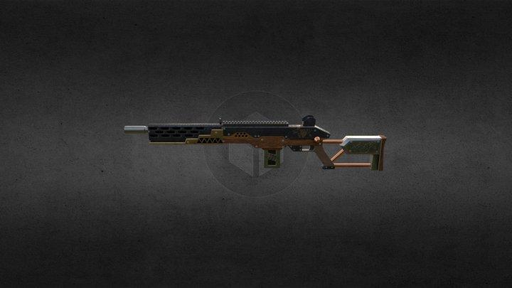 sniper/assault rifle 3D Model