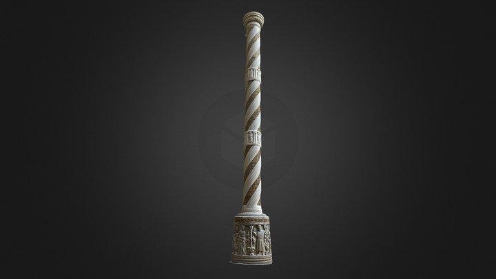 Candelabro per il Cero pasquale 3D Model