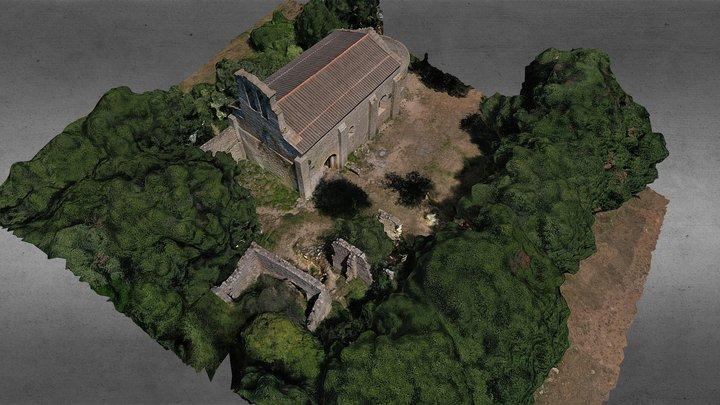 Saint-Martin-du-Cardonnet et annexes  (34) 2020 3D Model
