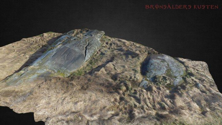 Rock art gamleby Low res 3D Model
