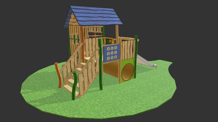 Toddler play house 3D Model
