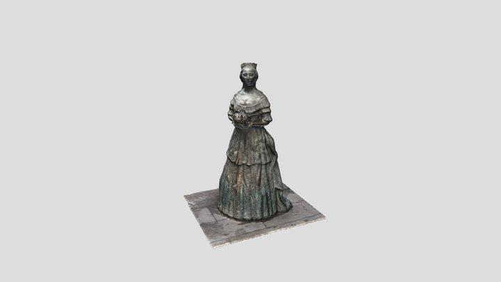 Emperatriz Eugenia de Montijo 3D Model