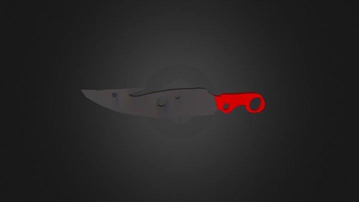 Hunter's Blade - Destiny Weapon 3D Model