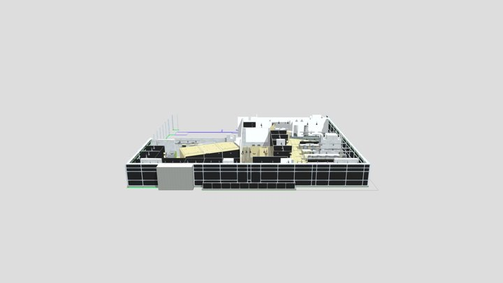 Amoblamiento Electrolux Bogotá 3D Model