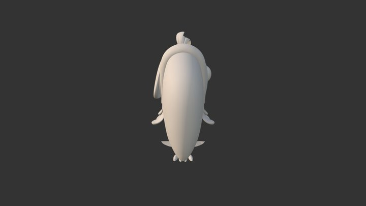 Papagaio 01 _base 3D Model