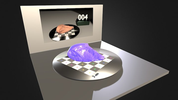 SEIXO TALHADO 3D Model