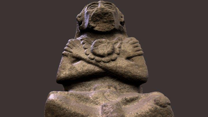El Baúl, Monument 5, Cotzumalguapa, Guatemala 3D Model
