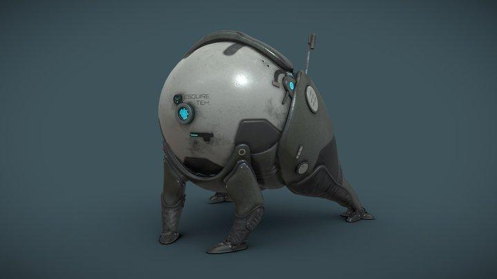 Esquire Teh 3D Model