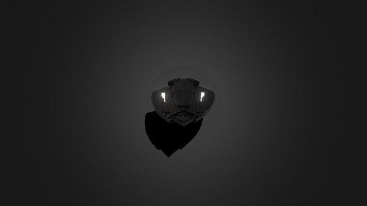 Wakanda Shield Game Ready W/Anim 3D Model