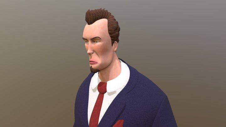 Man In Suit 3D Model