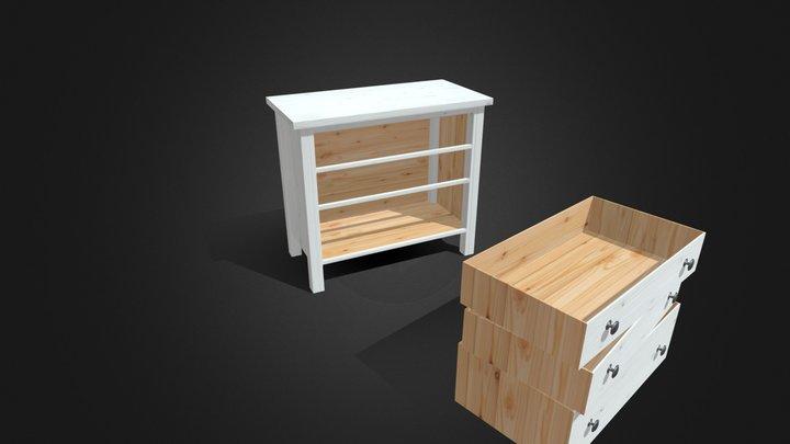 Cabinet A 3D Model