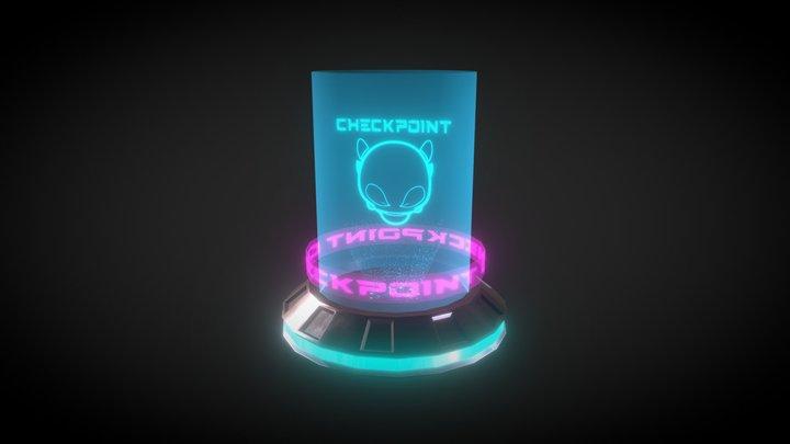 Hologram 3D Model