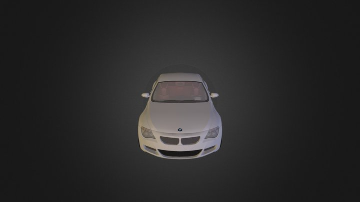 BMW M6 E63 3D Model