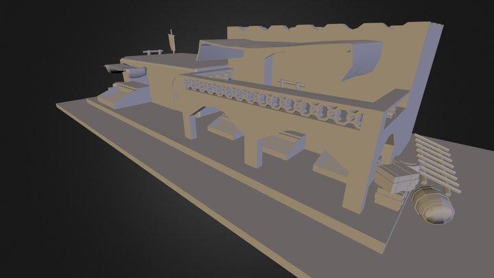 Test House 3D Model