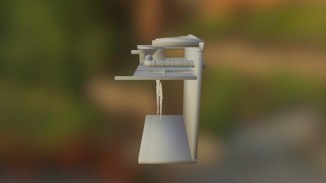 ER80M OBJ 3D Model