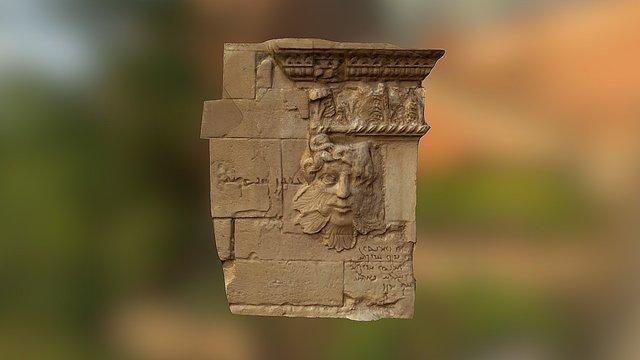 Hatra Relief 3D Model