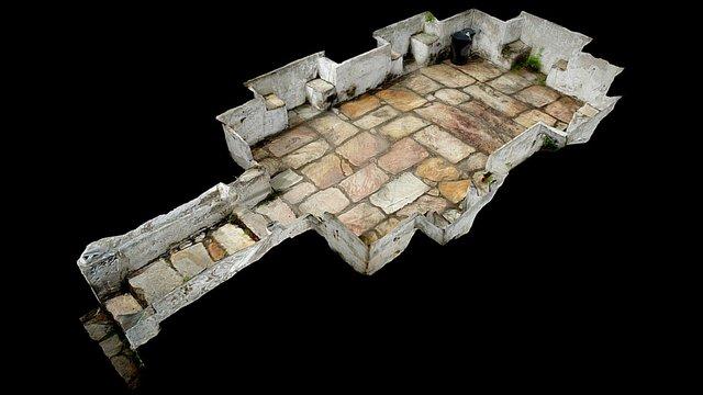 Jardim da Casa de Gonzaga 3D Model
