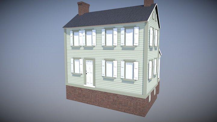 Hidden Town 3D Lot 98 3D Model