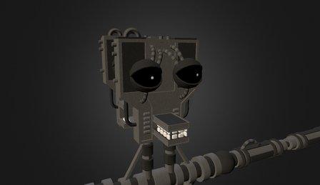 Endoskeleton 3D Model