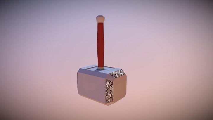 Thor's Hammer (Mjolnir) 3D Model