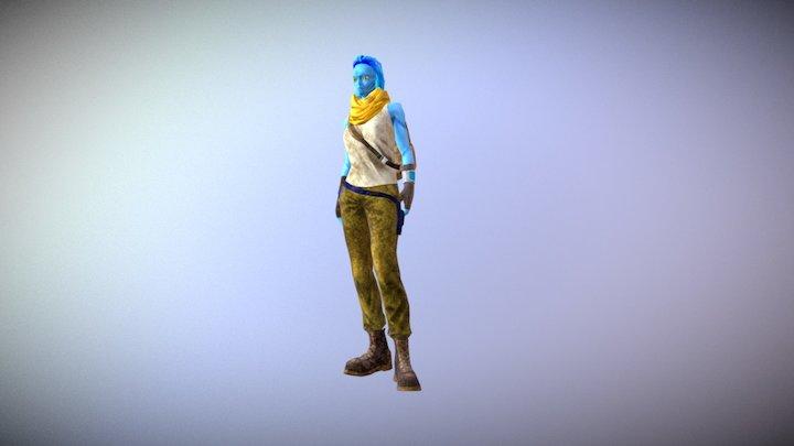 Koarra 3D Model