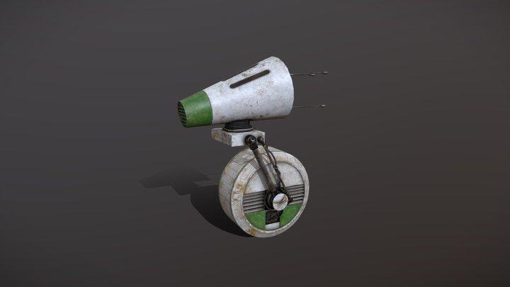 D-O droid 3D Model