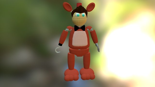Boom The Fox 3D Model