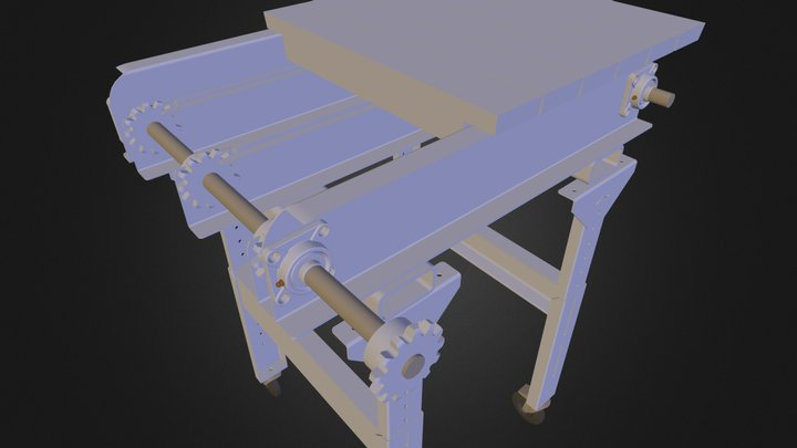 TRANSPORTADOR CADENA 3D Model