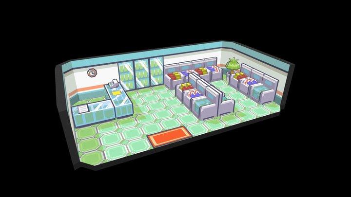 Pokemart 3D Model