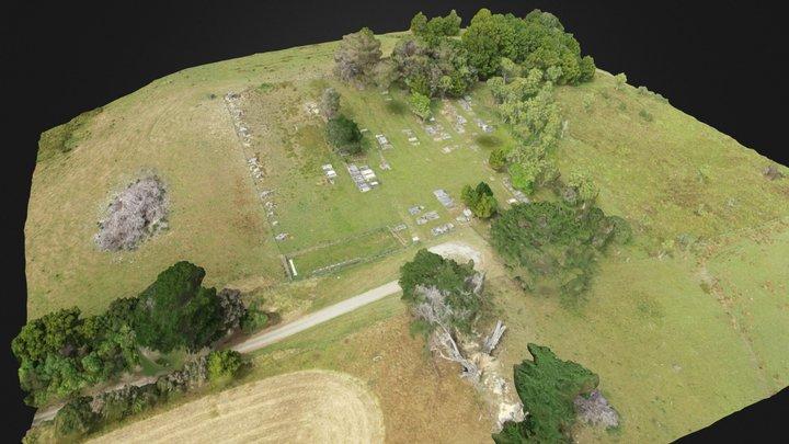 Pongaroa Cemetery - 16 Jan 2020 3D Model