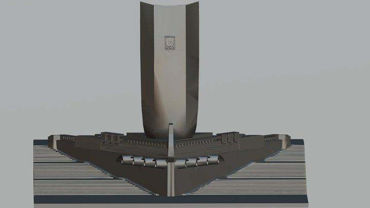 Ладья 3D Model