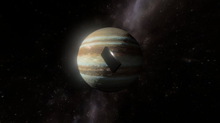 Jupiter and Beyond the Infinite 3D Model