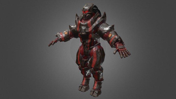 S.A.A (Symbiotic Armor Assault) 3D Model