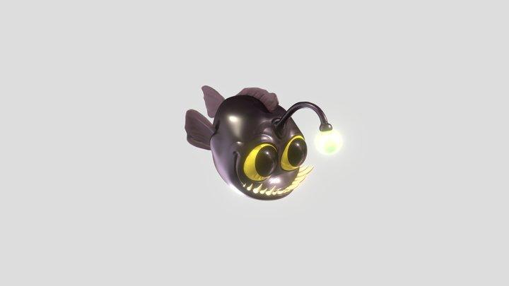 Anglerfish 3D Model