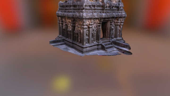 Kailasa Temple at Ellora 3D Model