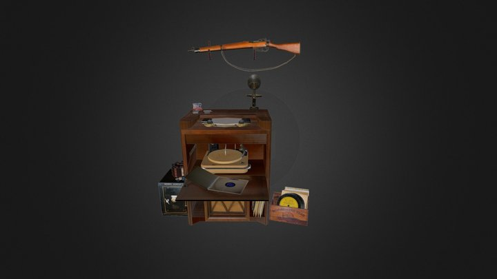 Jukebox 3D Model