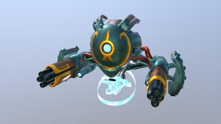Robô de combate. 3D Model
