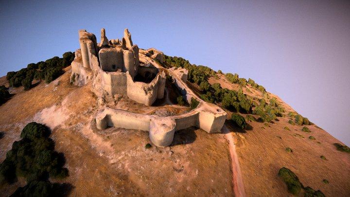 Castillo Puebla Almenara 3D Model