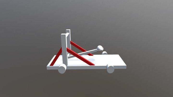 Catapulta 3D Model