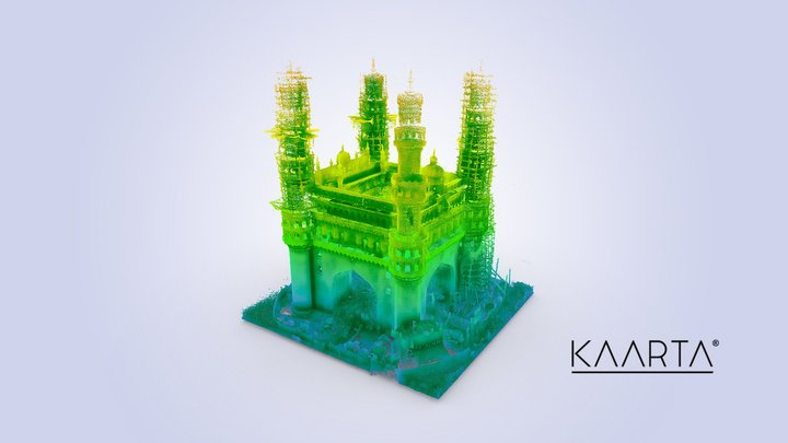 Charminar 3D Model