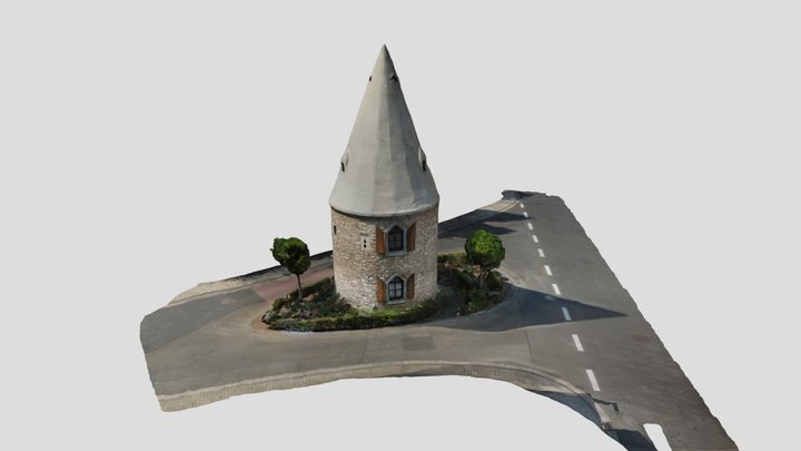 [SfM] Ortsbefestigung Ober-Ingelheim, Neuweg 3D Model