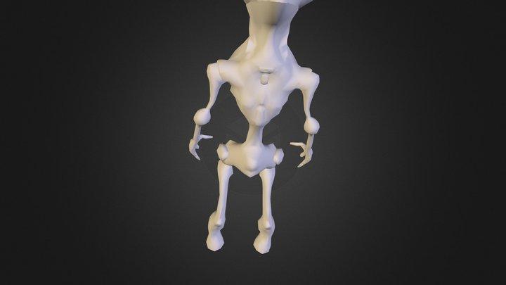 Low Poly R 3D Model