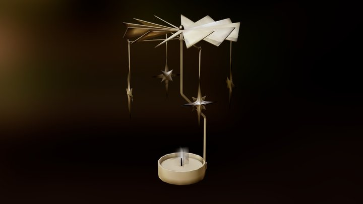 Candle Mobile (2): Patreon 3D Model Archive 3D Model
