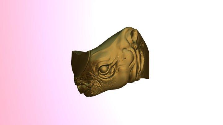 A bit of ivory 3D Model